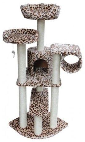 Safari Cat Gym - eclectic - pet accessories - catsplay.com