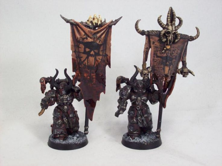 Banner, Chaos, Chaos Space Marines, Games Workshop, Warhammer 40,000, Word Bearers