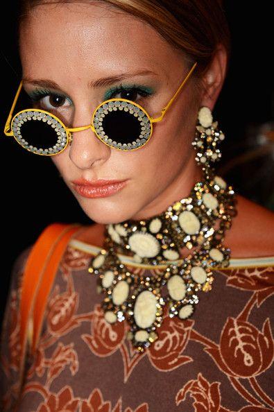 Miranda Konstantinidou: Backstage - Mercedes-Benz Fashion Week Spring/Summer 2013
