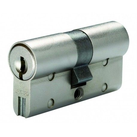 Cylindre de serrure double entrée Bricard Chifral S2 - Profil Européen 30x40mm livré, installé et garanti.