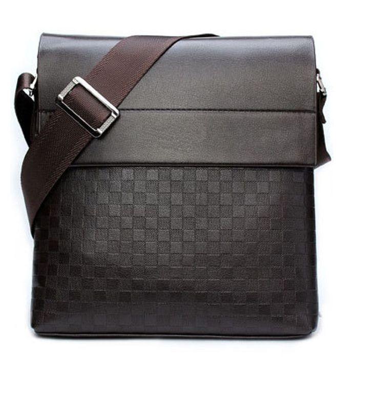New Fashion Leather Men Messenger bag leisure bag Men's crossbody bag shoulder  #Unbranded #MessengerShoulderBag