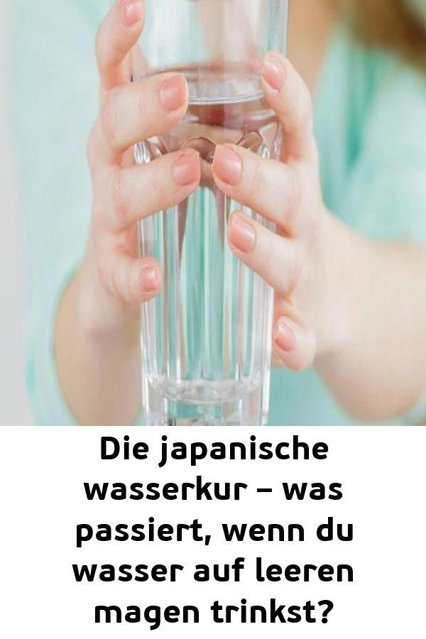 Die japanische wasserkur – was passiert wenn du wasser auf leeren magen trinkst?