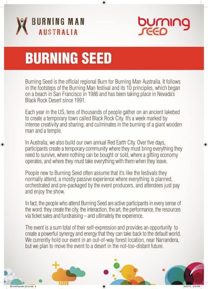 Burning Seed