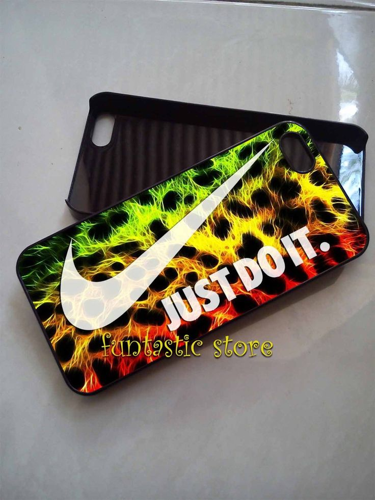 Nike Just Do It Leopard Phone Cases
