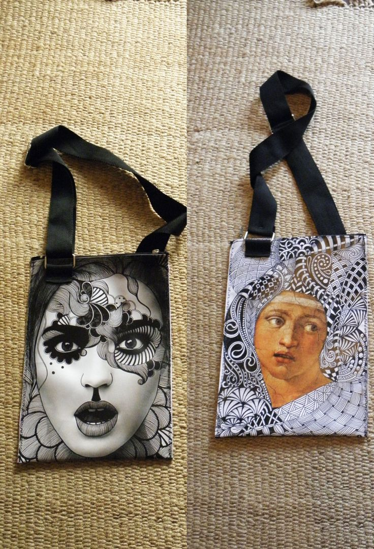 PLASTIC BAG PRINTED WITH IMAGES THAT I LIKE, TWO SIDES, WATERPROOF