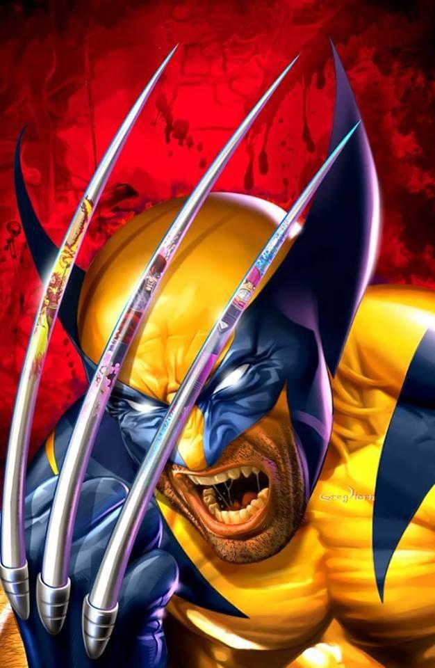 Wolverine Art by Greg Horn