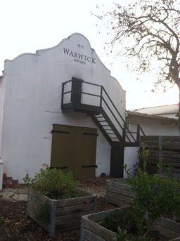 Warwick winery - South Africa