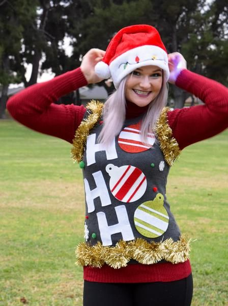Ugly Christmas Sweater Vest | Great for Ugly Christmas Sweater Parties – Static Threads On Sale #uglychristmassweater
