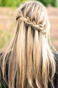 waterfall braid how to.   I'm getting all braidy up in this house, bitchaz.: Waterfalls Braids Ne, Waterf Braids, Waterfalls Braids Cut, Waterfalls Braids 33, Beautiful, Waterfalls French Braids, Waterfall Braids, In This House, Hair