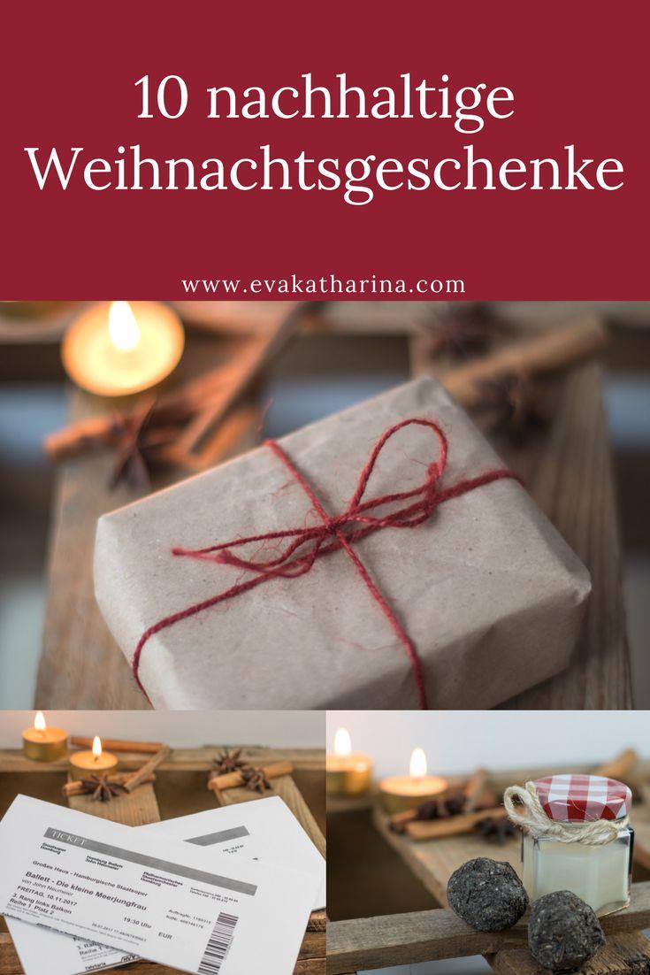 Du möchtest jemanden beschenken und trotzdem die Umwelt schützen? Ich habe hier 10 Ideen für nachhaltige Weihnachtsgeschenke für dich.