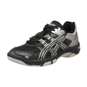 Asics Gel Rocket Ladies Indoor Court Shoes --  Aesthetically pleasing and a sturdy, reliable court shoe.