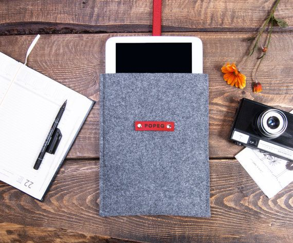 iPad Pro case custom size tablet case felt ipad pro cover by POPEQ