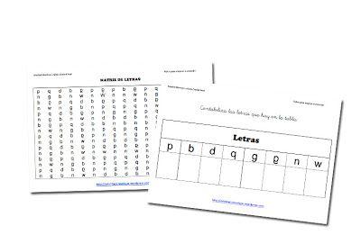 RECURSOS PRIMARIA   100 matrices para trabajar la dislexia ~ La Eduteca