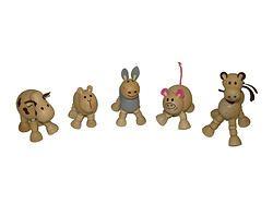 Wooden Farm Flexi-animal Set