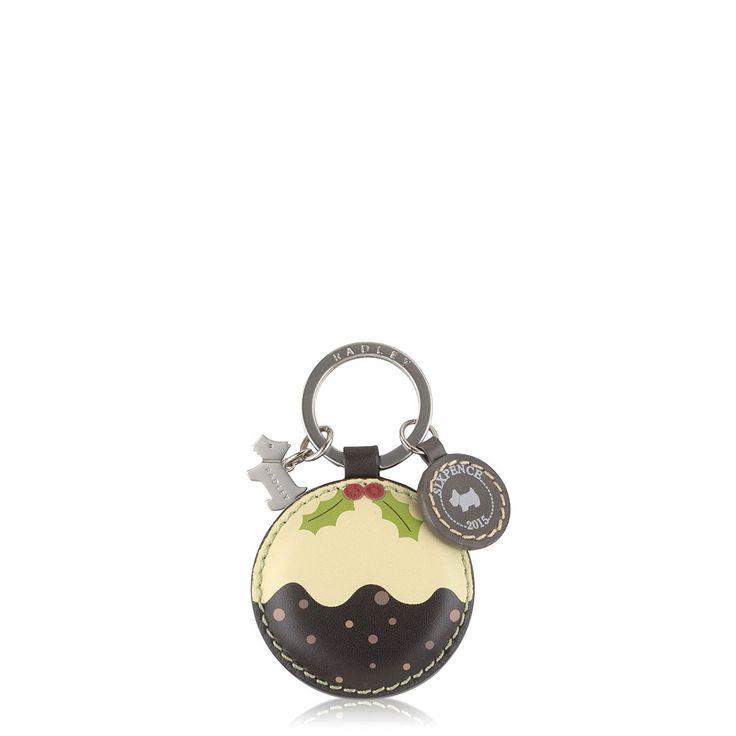 Christmas Pudding Key Ring > Buy Key Ring Online at Radley