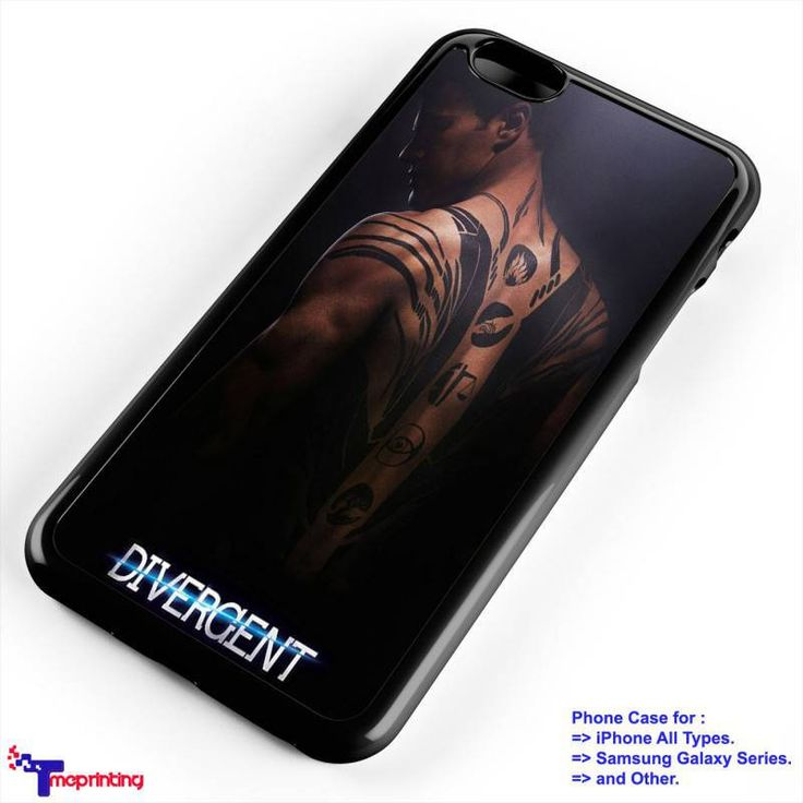 Divergent Tattoo - Personalized iPhone 7 Case, iPhone 6/6S Plus, 5 5S SE, 7S Plus, Samsung Galaxy S5 S6 S7 S8 Case, and Other