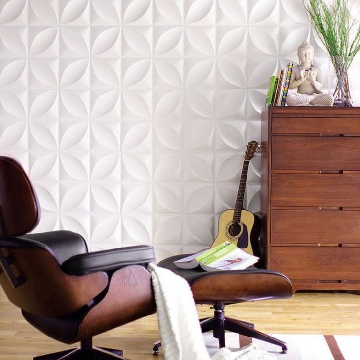 Wall Feature Circular In Square Repeat 3d Wall Panel Surfaces Chrysalis Wall Flats 3d