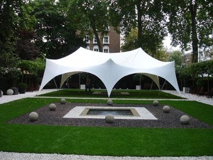Capri Tent 6x9 - Garden elegance, glamour.