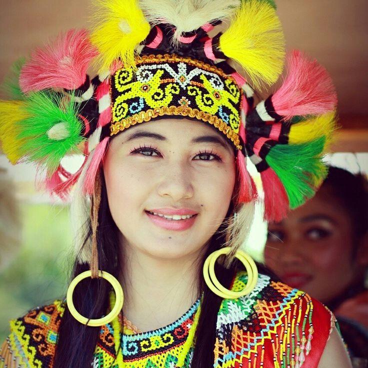 Borneo woman