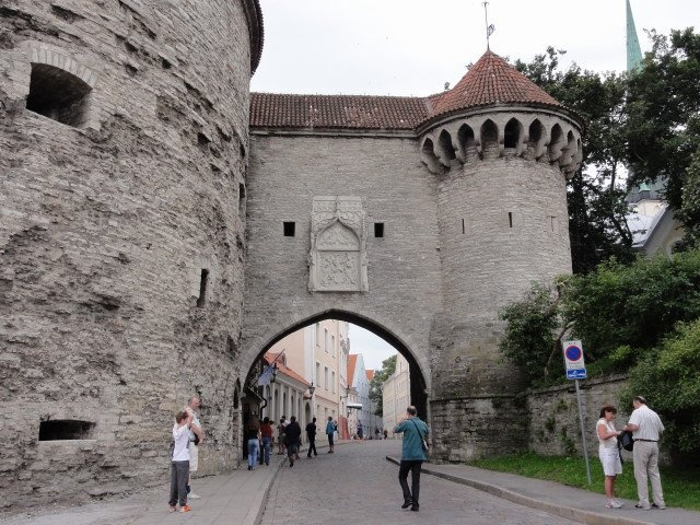 Tallin, Estonia. We were just there in June 2013.  Wonderful country and people. Rich in history and great food!