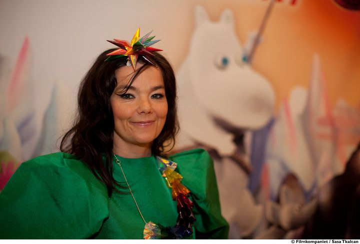 Björk <3 Moomin