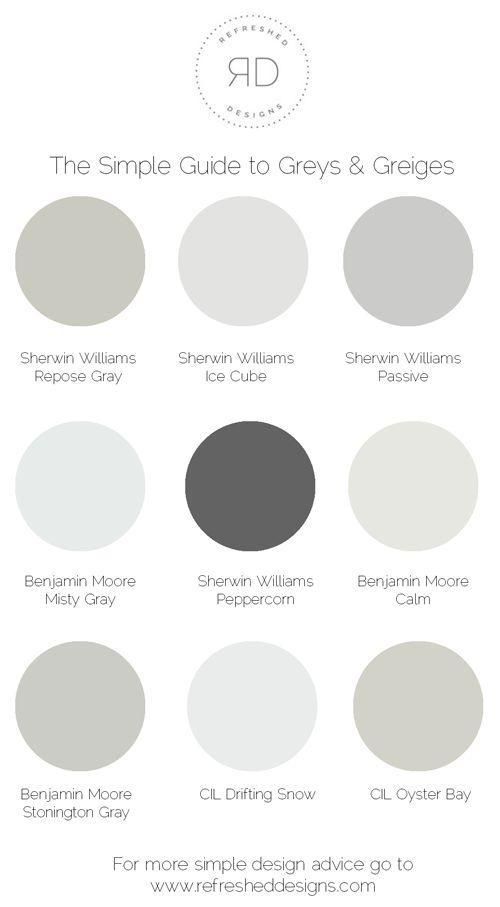 Find It: La peinture grise parfaite qui résistera à la tendance Trend Grey est une belle couleur neutre, mais je crois que la tendance grise over-the-top home ...