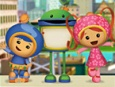 Having trouble loading the actual page on my computer right now, but the Umizoomi Easter eggs (made with plastic eggs) are something that Ryan will absolutely love!  http://www.nickjr.com/crafts/umizoomi-bot-easter-egg.jhtml