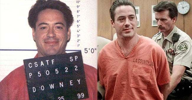 13 Facts You Never Knew About Robert Downey Jr.'s Time In Prison