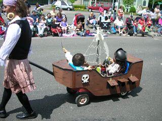 Pirate Ship Wagon