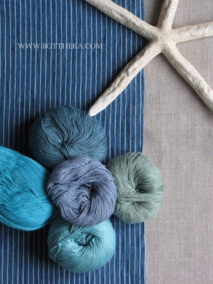 beach desire - linen, cotton, yarn http://bottheka.com/en/beach-desire-0