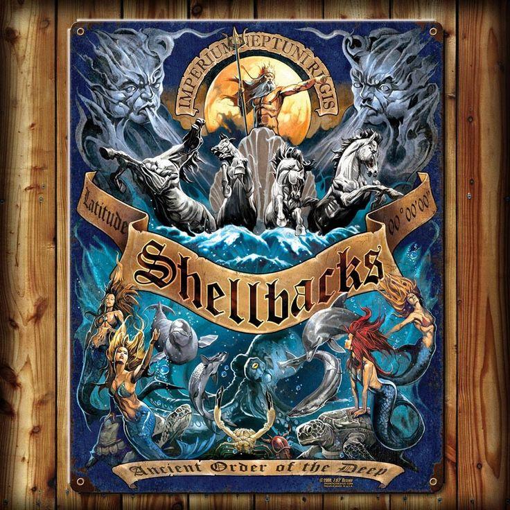 Navy/Sailor Shellback poster