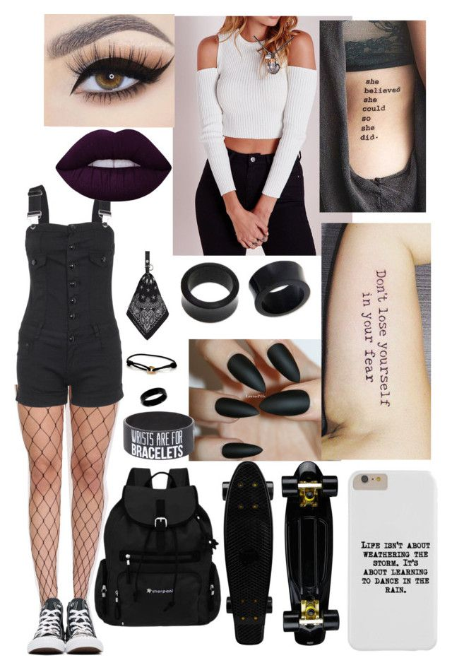 """""""Untitled #67"""" by mylovely8513 on Polyvore featuring Pilot, NOVICA, Converse, West Coast Jewelry, Cartier, Sherpani, AMIRI, Lime Crime and Hot Topic"""