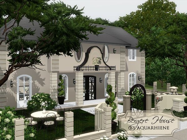 Lana CC Finds - Bergere House by Aquarhiene