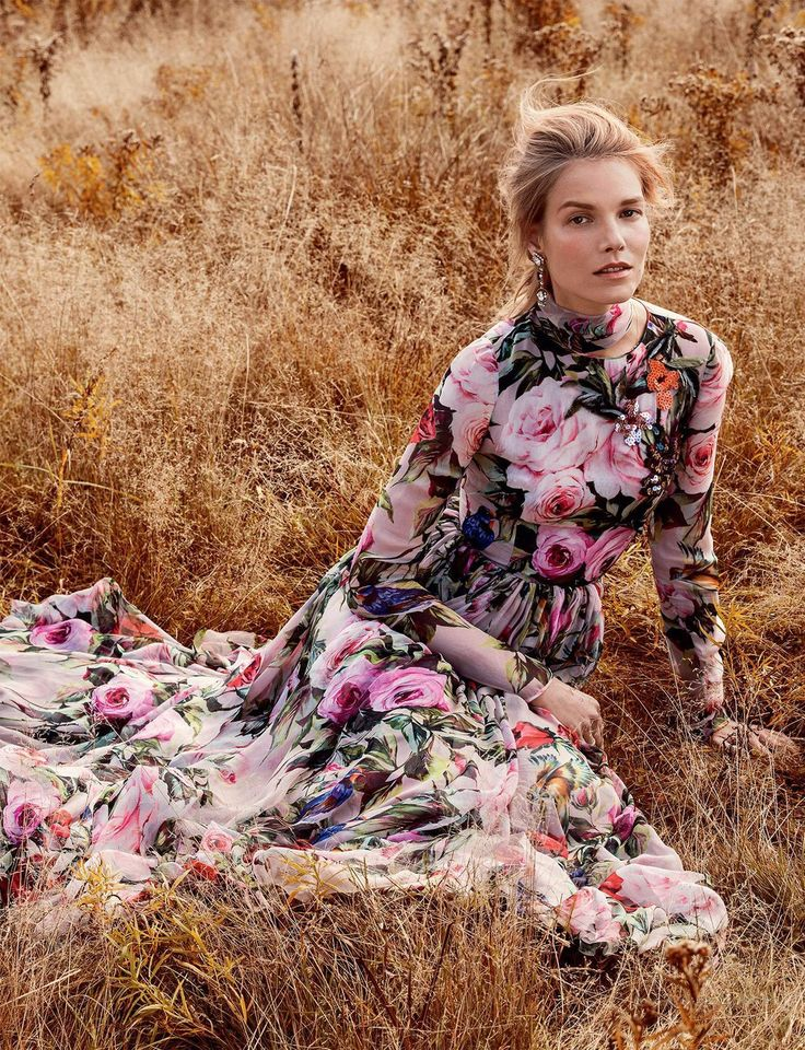 what dreams may come: suvi koponen by sebastian kim for vogue russia february 2016 - Dolce&Gabbana Spring 2016