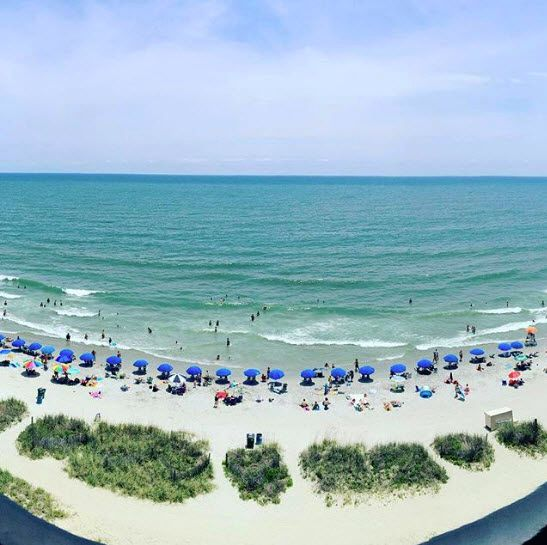 Oceanfront or Ocean view -  Pick your Pleasure in Myrtle Beach, South Carolina! Choose from Myrtle Beach hotels, oceanfront resorts, cozy beach homes, campgrounds, motels, condo rentals and more! Click on the pin for places to stay and hope to sea you soon! (Photo via Instagram by jndean14)
