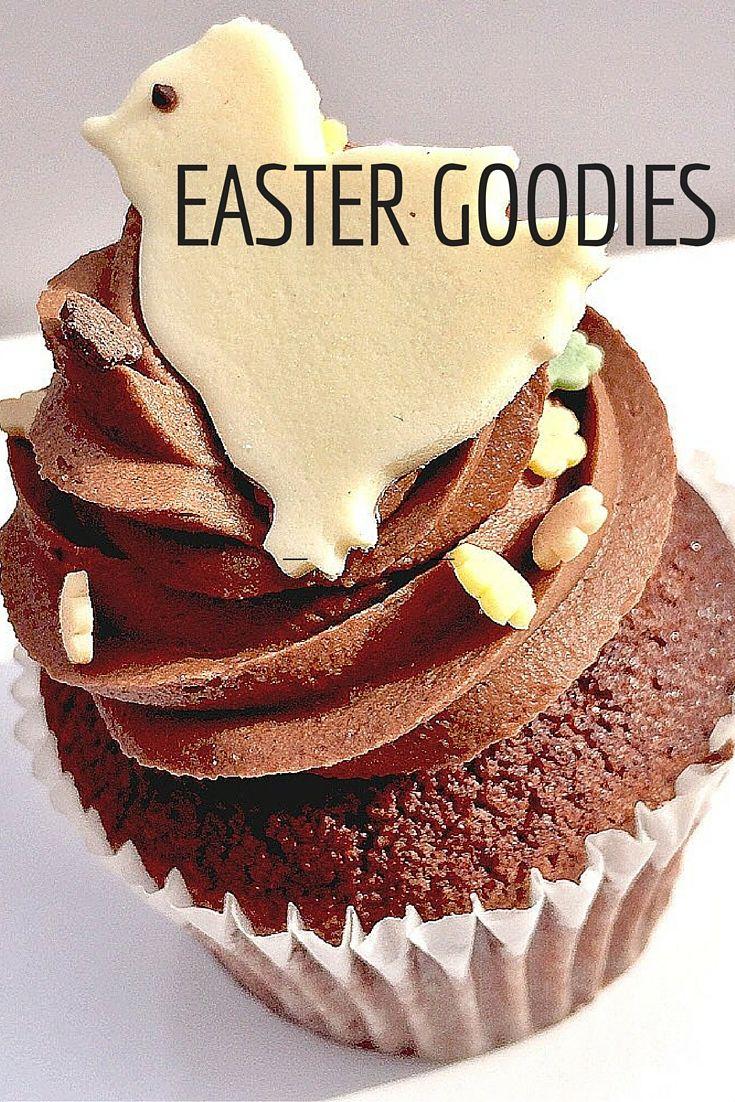 Easter Chocolate Cupcake