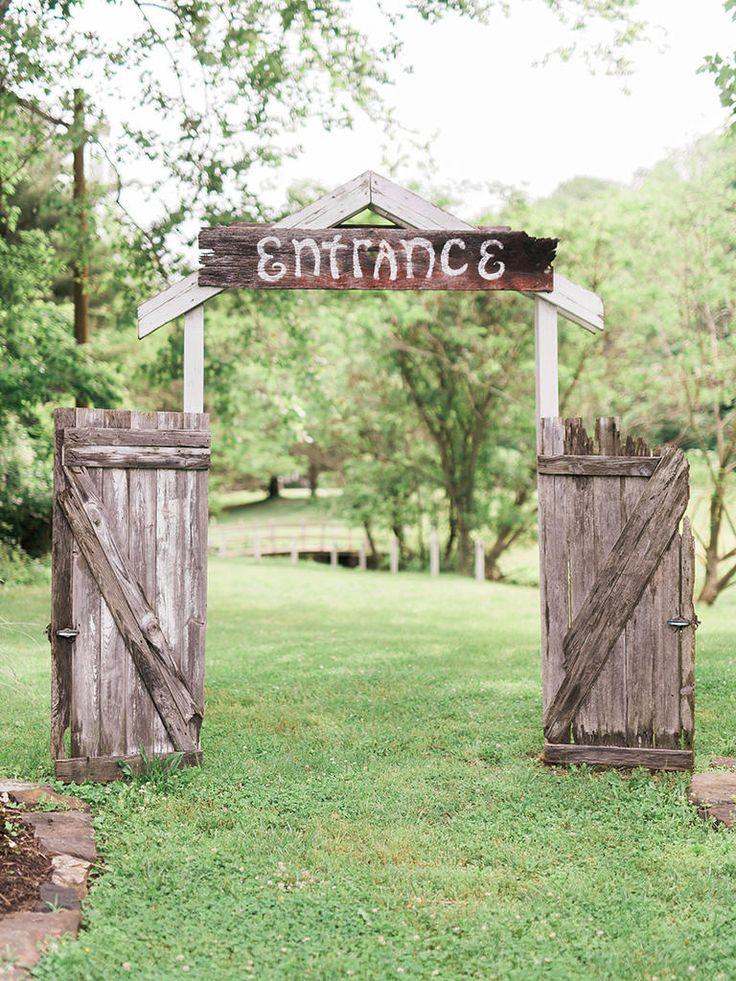 45ba384fff324a9ad790bef663ca403c  outdoor wedding entrance wedding ceremony arch - Wedding Ceremony Ideas