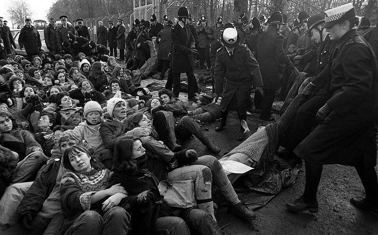 """Margaret Thatcher dismissed the Greenham Common women's peace camp as an """"eccentricity"""" but her Cabinet wrestled with winning the public around to having US nuclear cruise missiles sited in Britain."""