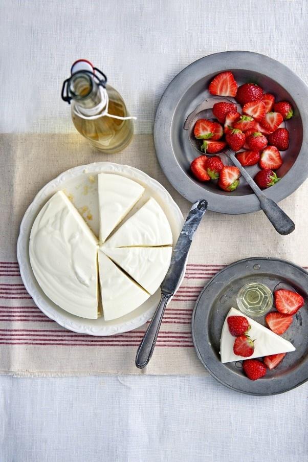 Mascarpone Limoncello Aardbeien delicious