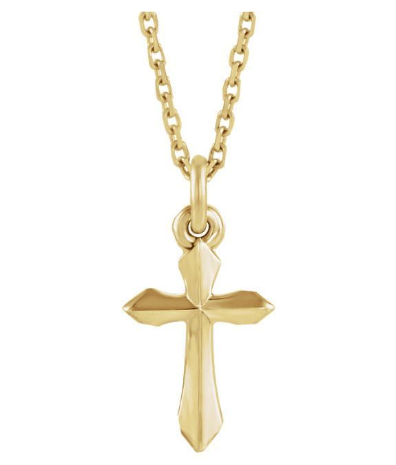 458ef557fd4 Small Sword of the Spirit Cross Necklace for Women