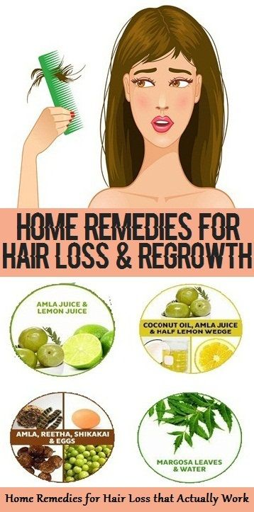 Effective Home Remedies for Hair Loss and Regrowth..