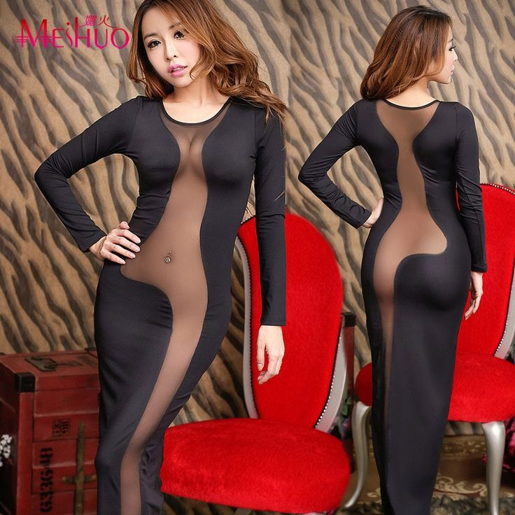 Cool Robe Limited New Korean Women Dresses Nightclub Ladies Halter The Temptation Tight Package Hip Dress Long Section 2016 Summer