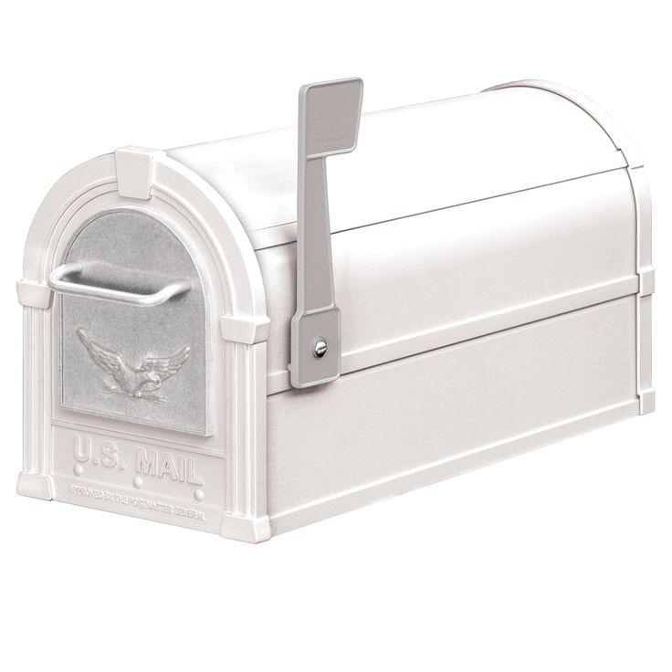 Aluminum Eagle Rural Salsbury Mailbox | MailboxUniverse.com
