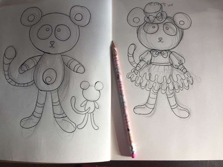 Bear costume drawing – Sweet Lolita World