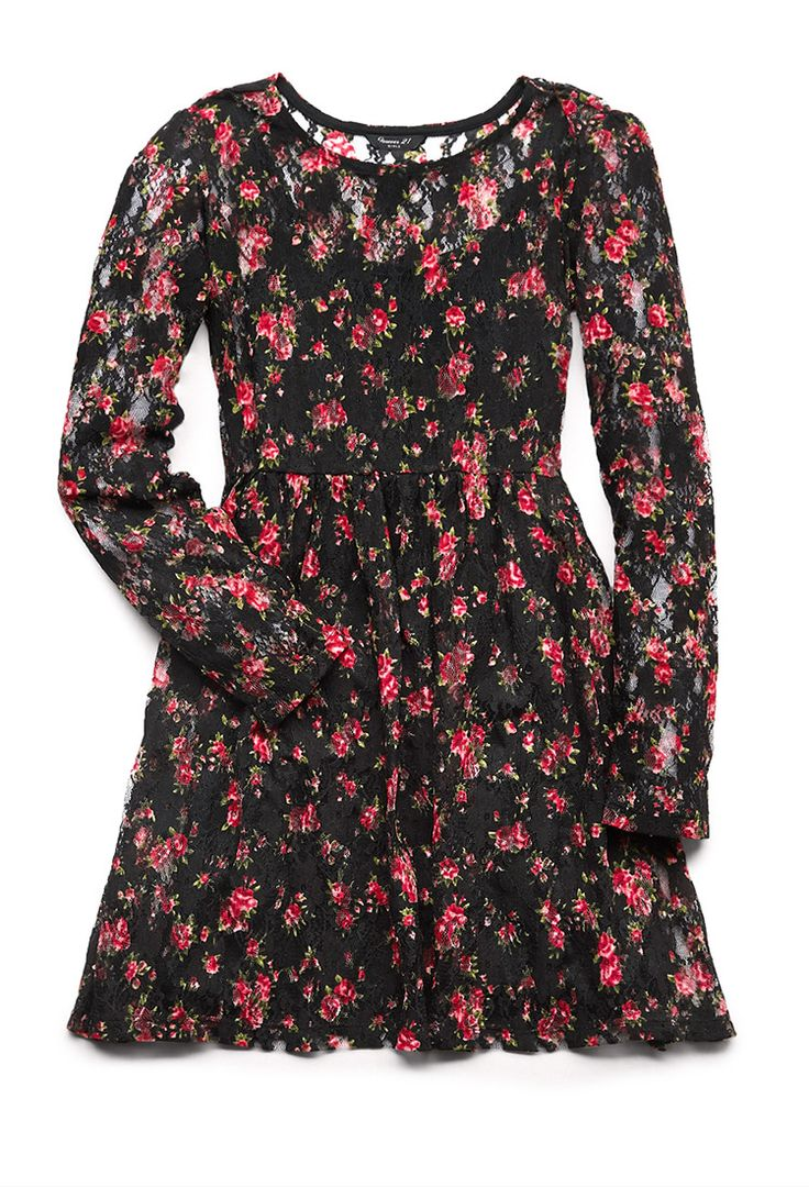 sweet floral lace dress forever21 florals