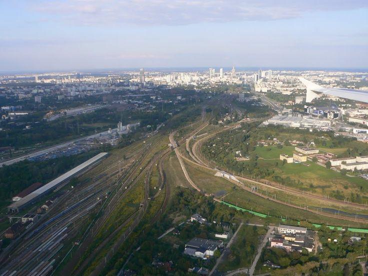 Rozjazdy kolejowe przy Dworcu Zachodnim
