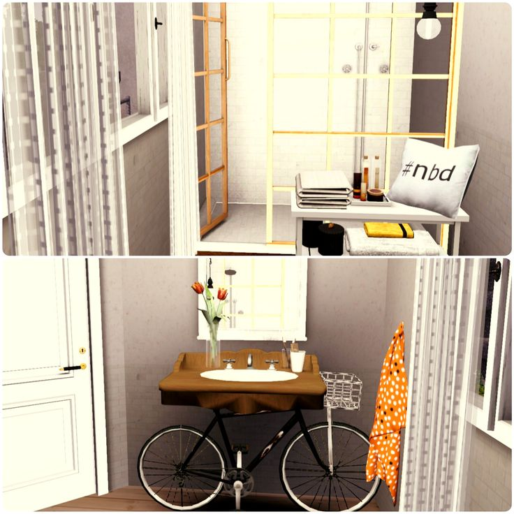 Urban Living By Simberry / Kitchen / Bathroom/ Sims 3 / Apartment