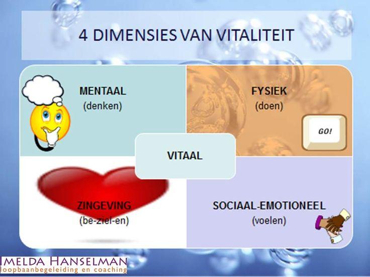 4 dimensie van VITALITEIT