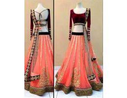 Lehenga Choli- Buy Lehenga Sarees, Handwork Lehanga Choli, Partywear Lehenga Choli|Women|Online|Whitemango