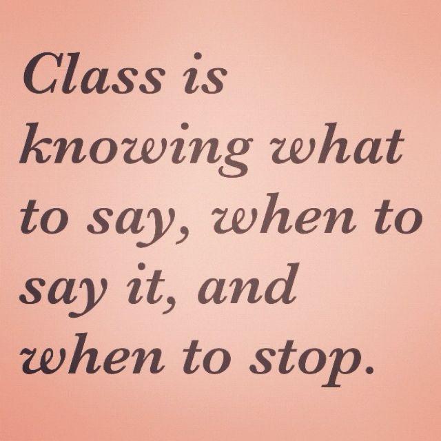 Class...